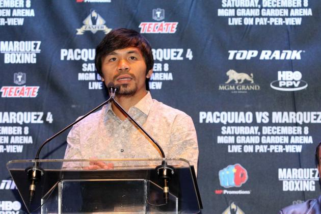 Manny Pacquiao vs. Juan Manuel Marquez: Will Lax Training Cost Manny?