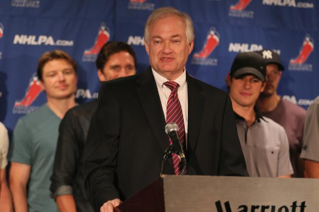 NHL Lockout: Donald Fehr Dismisses the Idea That the NHL Has Made Concessions
