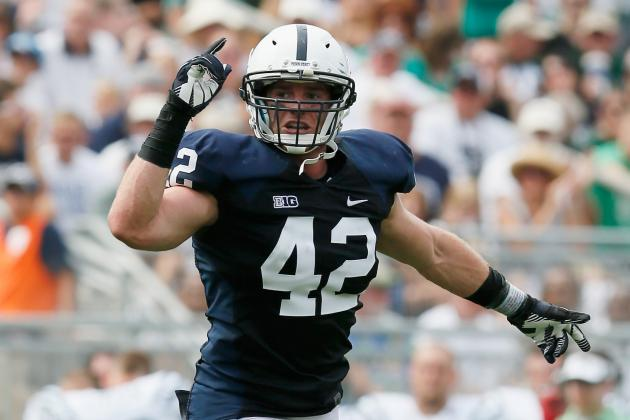 Penn State Leading Tackler Michael Mauti Carted off