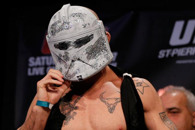 What the What? UFC 154's Tom Lawlor Channels the Shockmaster at Weigh-Ins