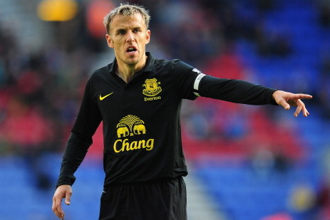 Phil Neville out 6-8 Weeks Due to Knee Injury