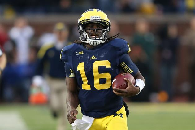 Denard Robinson: Michigan's Use of Star at RB Brings Added Element to Offense