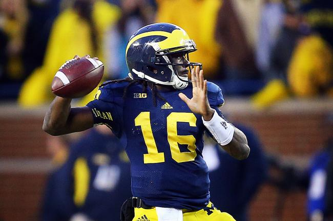 Senior Denard Robinson has had a wonderful career at UM