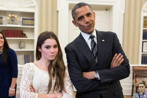 McKayla and President Obama Are Not Impressed