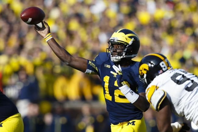 Devin Gardner is getting the job done against Iowa.