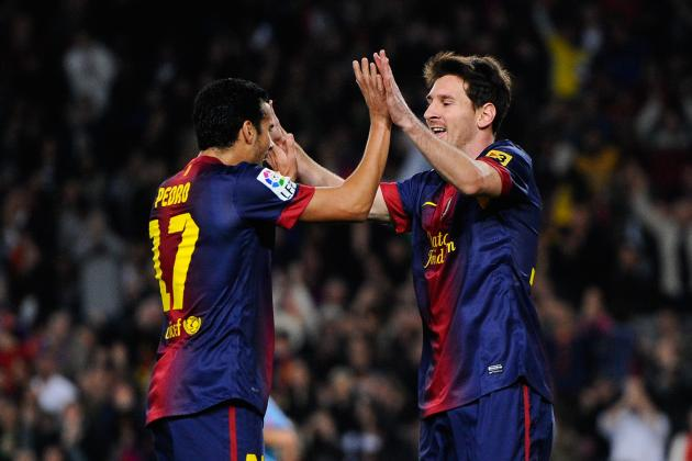 Messi Scores Twice in Barcelona's Win over Zaragoza
