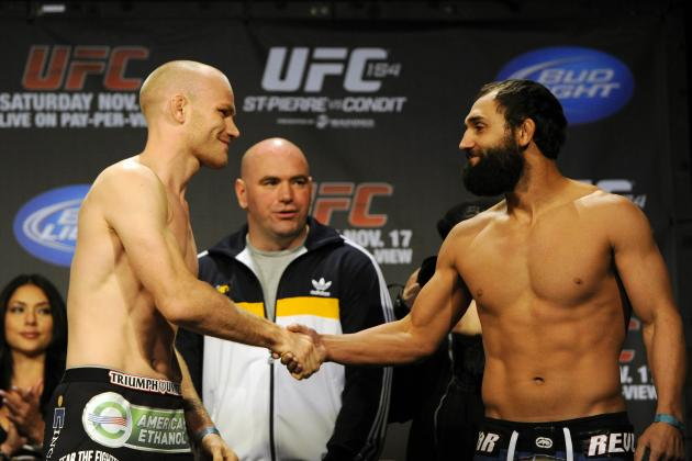 Kampmann vs. Hendricks Is the One Can't-Miss Fight from the UFC 154 Pay-Per-View