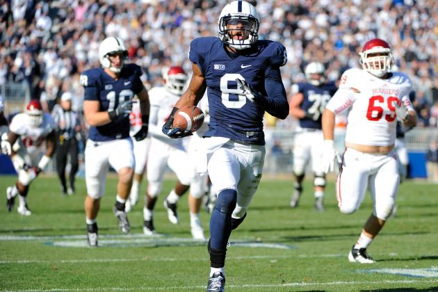 Penn State Gets Monster Days from McGloin and Robinson in Win Against Indiana