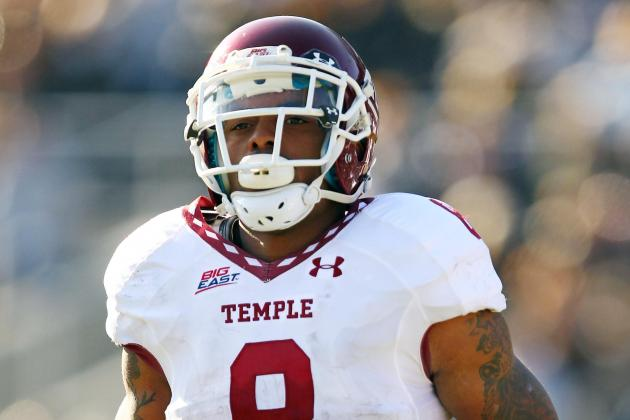 Temple RB Montel Harris Sets School Record with 351 Yards and 7 TDs