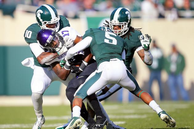 Northwestern Holds on to Beat Michigan State