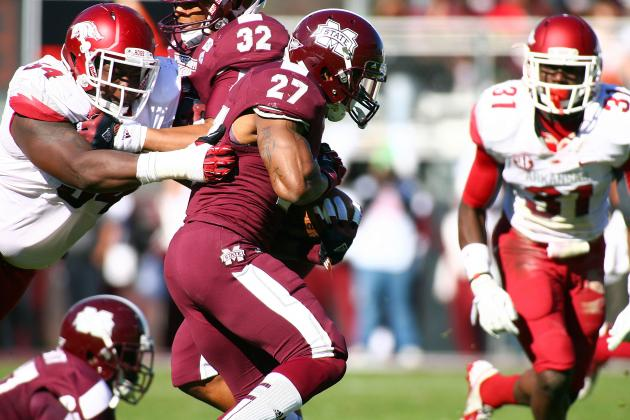 Mississippi St. 45, Arkansas 14