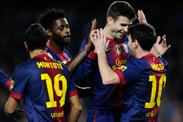 Barcelona vs. Real Zaragoza: Score, Analysis and Grades