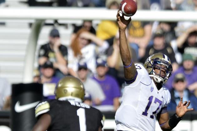 Price throws 5 TDs as Washington rips Colorado