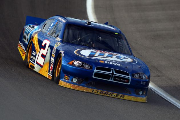 NASCAR Chase Standings 2012: Brad Keselowski's Lead Is Insurmountable for the 48