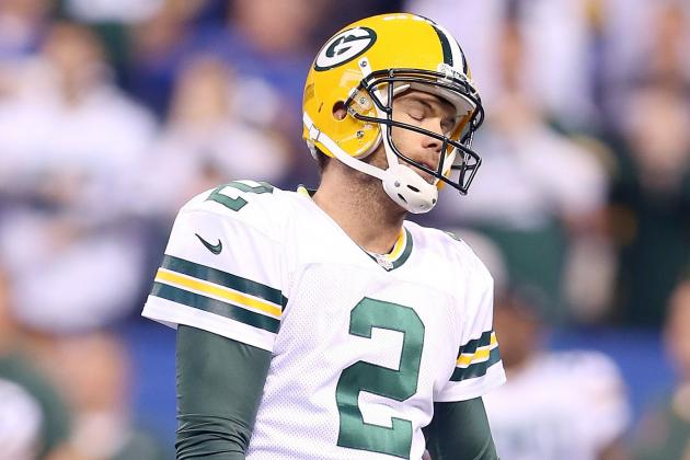 Packers K Crosby Takes Aim on Better Second Half