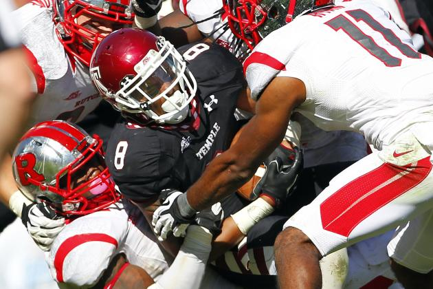 Temple RB Montel Harris Is Making the Most of His Second Chance with Record Day