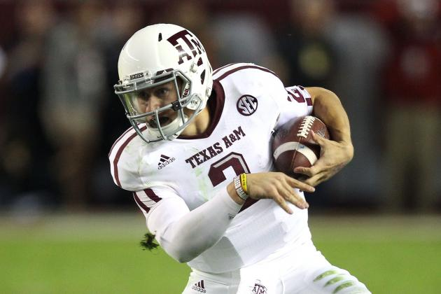 Manziel Becomes 1st Frosh to Total 3,000 Pass/1,000 Rush Yards