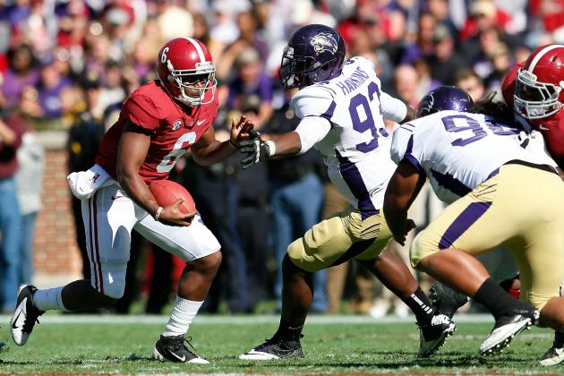 Alabama Football Needed Feeling of Domination over Western Carolina
