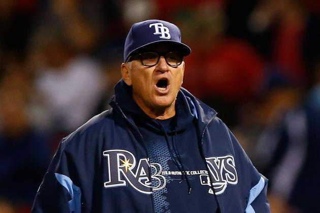 Rays' Joe Maddon Doesn't Worry About Toronto Blue Jays' Moves