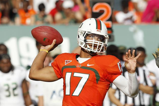 Morris Throws for 413 Yards as Miami Cruises