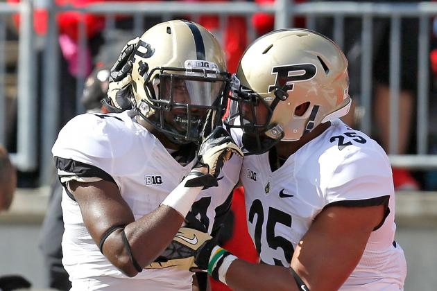 Hunt, Purdue Slip Illinois to Inch Toward Bowl