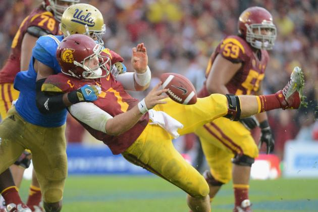 Matt Barkley Injury: Separated Shoulder Has USC Trojans QB out Versus Notre Dame
