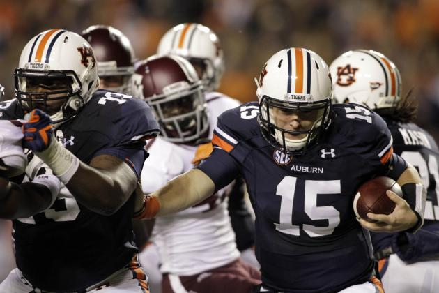 Auburn Sits Greg Robinson in Search of More Production
