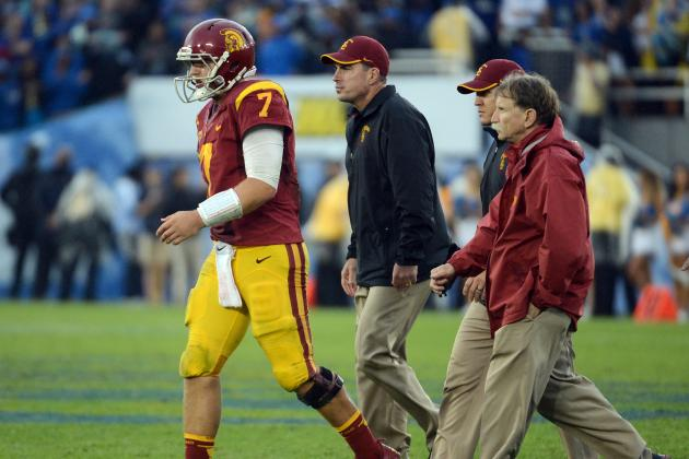 Notre Dame Football: Matt Barkley's Injury Hurts Irish's BCS Title Chances