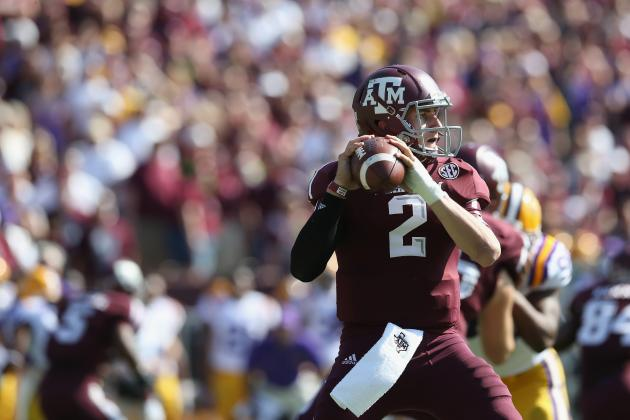 Heisman Trophy 2012: Why Weak Late-Season Schedule Will Hurt Johnny Manziel