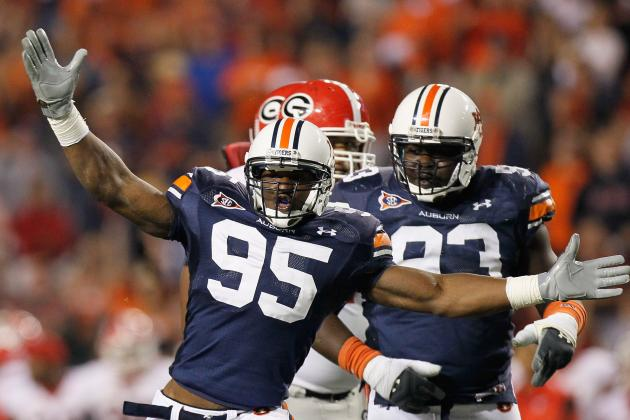 Auburn's Dee Ford Has Been on a Tear Since Returning from Injury
