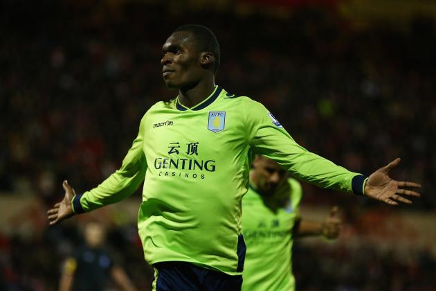 Aston Villa Striker Christian Benteke Professes His Love for Arsenal