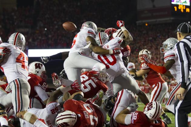 Wisconsin Football: Montee Ball's Fumble a Microcosm of Badgers' Season