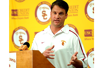 Kiffin Sneaks Out Back Door