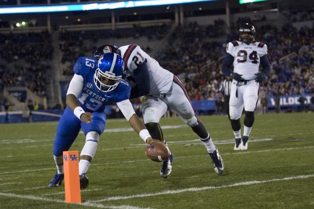 Kentucky vs. Samford: Wildcats Route the Bulldogs on Senior Day 34-3