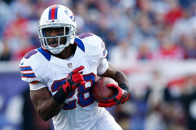 C.J. Spiller: Buffalo Bills RB Intriguing Buy-Low Target in Fantasy Football