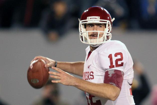 Oklahoma vs. West Virginia: Landry Jones Proves WVU's D Doesn't Belong in Big 12