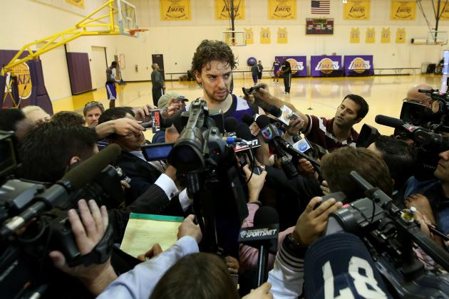 Note to L.A. Lakers: Pau Gasol Isn't Going Anywhere