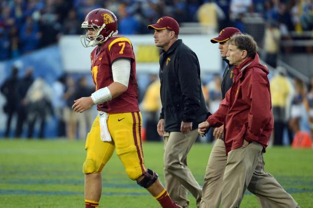 Matt Barkley: Examining USC QB's NFL Draft Stock After Shoulder Injury