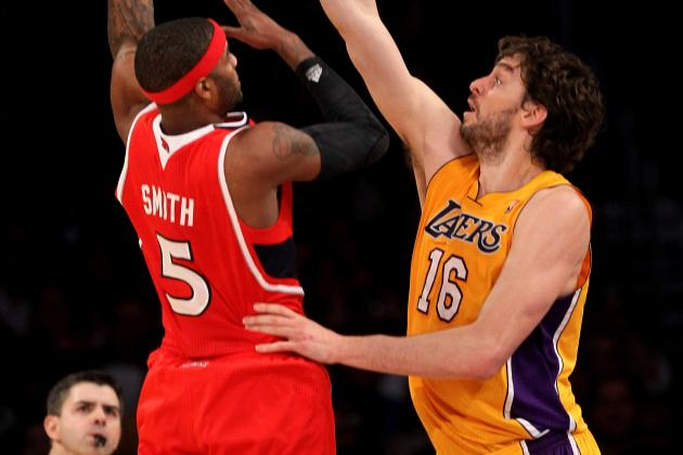 Lakers Rumors: Latest on Pau Gasol for Josh Smith Trade and More Buzz from L.A.