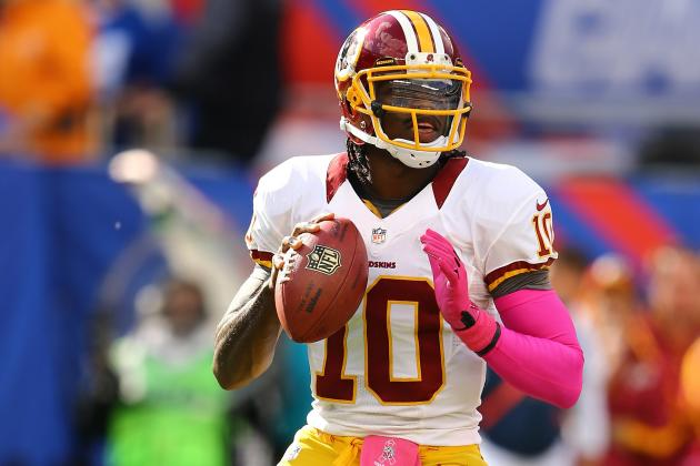 Robert Griffin III: Realistic Expectations for RG3 and Redskins Down the Stretch