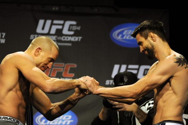 GSP vs Condit: Breaking Down the FightMetric Numbers
