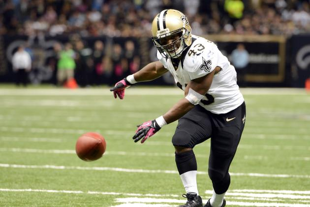Darren Sproles: Realistic Fantasy Expectations for Saints RB in Week 11