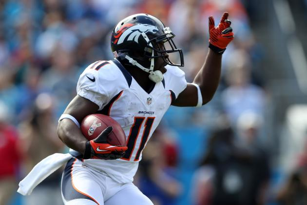 Broncos' Trindon Holliday Has Brought Sprinter Speed to NFL