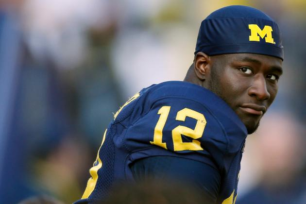 QB Devin Gardner Ties Michigan Record with 6 Touchdowns Against Iowa