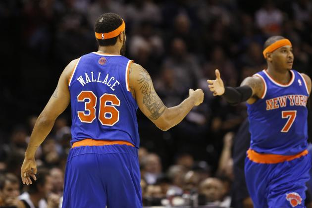 New York Knicks: Breaking Down Rasheed Wallace's Impact on the Bench Unit