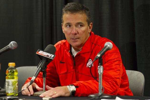 Monitoring Urban Meyer: It's Michigan Week, Finally