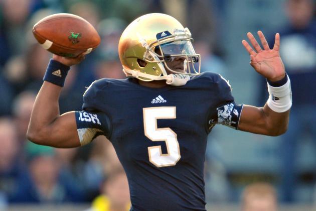 Video: Notre Dame QB Everett Golson