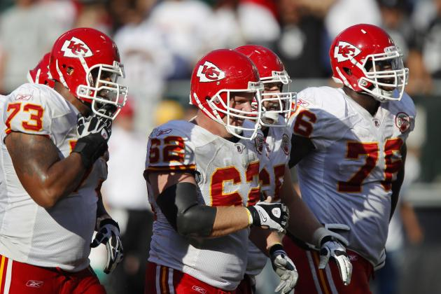 Chiefs Down 2 Starting O-Linemen vs. Bengals