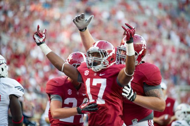 Freshman RB Kenyan Drake Suspended for Western Carolina Game