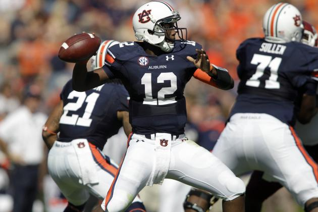 Tough Wallace Bounces Back, Leads Auburn to 51-7 Romp over Alabama A&M